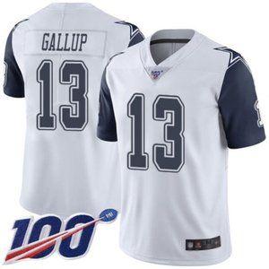 Dallas Cowboys Michael Gallup 100th Season Jersey2